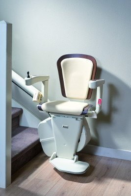 Handicare Freecurve Curved Stair Lift Alliance Seat