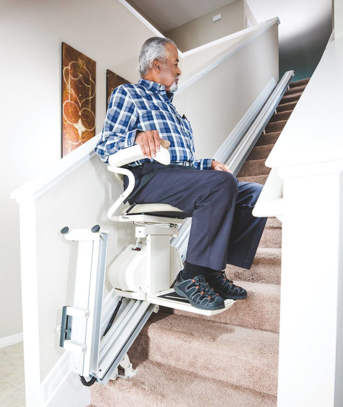 Harmar SL300 Stairlift, Available for Rent or Purchase throughout SE Wisconsin