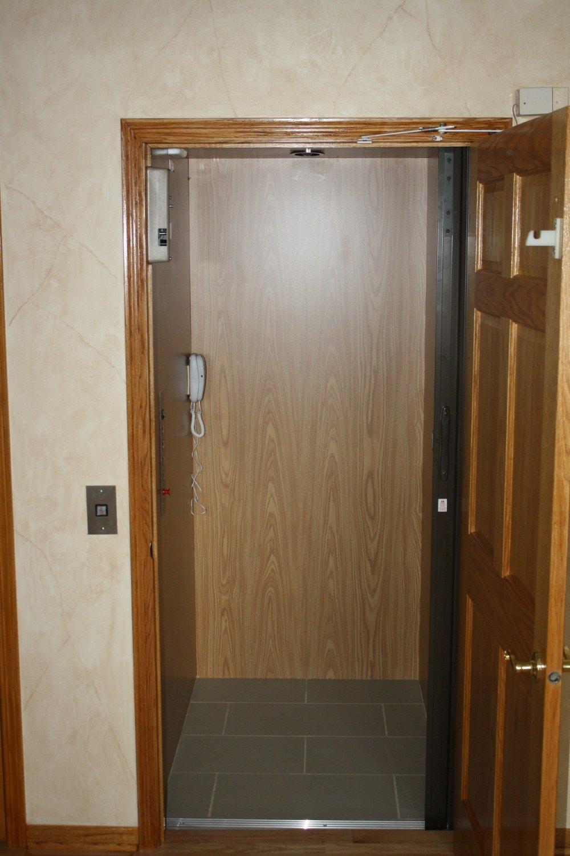 Residential Elevator Installed by BILD in Germantown